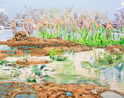 Alcantara #5, Oil On Canvas 56x71 Cm, Year 2007 - M. Pianese - Oils