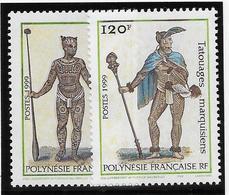 Polynésie N°584/585 - Neuf ** Sans Charnière - Superbe - French Polynesia