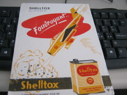 BUVARD PUBBLICITARIA SHELL SHELLTOX - Hydrocarbures