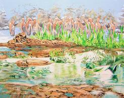 Alcantara #6, Oil On Canvas 56x71 Cm, Year 2007 - M. Pianese - Oils