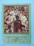 Livre Des Timbres De L'année 1991 Year Book ONU UNO Vienne Wien 1991 - Centre International De Vienne