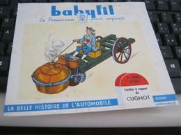 BUVARD PUBBLICITARIA BABYFIL - Gas, Garage, Oil