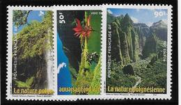 Polynésie N°634/636 - Neuf ** Sans Charnière - Superbe - French Polynesia