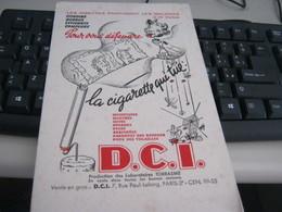 BUVARD PUBBLICITARIA SIGARETTE - Tabac & Cigarettes