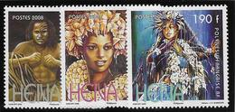 Polynésie N°837/839 - Neuf ** Sans Charnière - Superbe - Polynésie Française