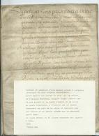 PARCHEMIN DE 6 PAGES - 1646-  Contrat De Location D'une Maison à LANGEAIS - Cachets Généralité