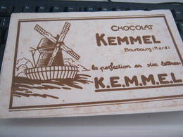 BUVARD PUBBLICITARIA CHOCOLAT - Kakao & Schokolade