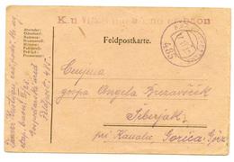 Austria, WW1 Feldpostkarte Travelled 1918 B180612 - Militaria