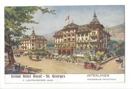 20118 - Interlaken Grand Hôtel Royal St. Georges - BE Bern