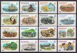 Bahamas MNH Definitive Set - Bahamas (1973-...)
