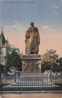 Germany Frankfurt am Main Goethe Denkmal 1911