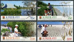 Kiribati. 2014. Mangroves (MNH OG **) Set Of 4 Stamps - Kiribati (1979-...)