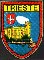 Publicité > Autocollant Pour ECUSSON De La Ville De TRIESTE - TBE - Autocollants