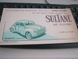 BUVARD PUBBLICITARIA L'HUILE POUR AUTOS-SULTANE - Koek & Snoep