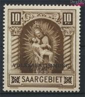 Saarland 194 Postfrisch 1934 Volksabstimmung 1935 (9222715 - 1920-35 Société Des Nations