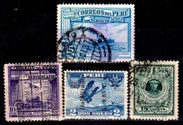 Peru-0113 - Emissione Di P. A. Dal 1936 Al 1938 (o) Usato - Senza Difetti Occulti. - Perú