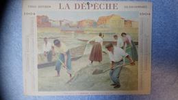 Calendrier La Dépêche 1904 - Calendars