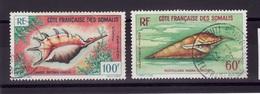 COTE SOMALIS PA 1962 N 31-32 Obli C182 - Oblitérés