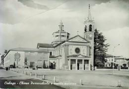 CISLAGO. Chiesa. Scuola. - Varese