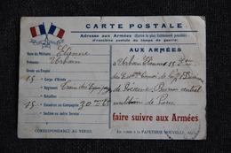 Correspondance Militaire Du 15 ème Régiment Du Train Des Equipages. - Guerre 1914-18
