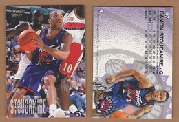 AC - FLEER 1996 - 1997 DAMON STOUDAMIRE 107 BASKETBALL NBA STARS - 1990-1999