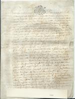 PARCHEMIN DE 4 PAGES - 1680 - Cachet Généralité De TOURS - Cachets Généralité
