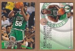 AC - FLEER 1996 - 1997 ERIC WILLIAMS 8 BASKETBALL NBA STARS - 1990-1999