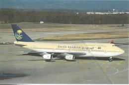 BOEING SAUDIA ARABIAN HZ-AIL HZ-ANA Airlines B 747 Avion Aviation Aiplane Flugzeuge - 1946-....: Era Moderna