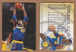 AC - FLEER 1996 - 1997 KEVIN WILLIS 38 BASKETBALL NBA STARS - Singles (Simples)