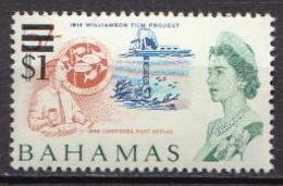 Bahamas MNH Revalued Stamp - Maritiem Leven