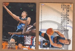 AC - FLEER 1996 - 1997 BOB SURA 20 BASKETBALL NBA STARS - 1990-1999