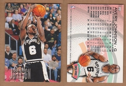 AC - FLEER 1996 - 1997 AVERY JOHNSON 99 BASKETBALL NBA STARS - Singles (Simples)