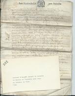 PARCHEMIN DE 4 PAGES - 1686 - Cachet Généralité De TOURS - Notaire De LANGEAIS - Cachets Généralité