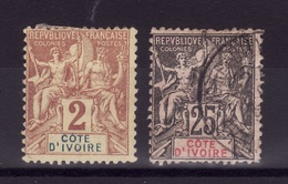 COTE IV  Lot Obli  C197 - Elfenbeinküste (1892-1944)