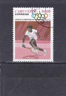 Cap Vert Oblitéré  1980   N°  419      JO De Moscou  Tennis - Kaapverdische Eilanden