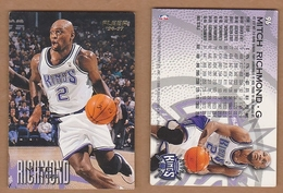 AC - FLEER 1996 - 1997 MITCH RICHMOND 96 BASKETBALL NBA STARS - Singles