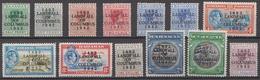 Bahamas MNH Columbus Overprinted Short Set, Last Value Missing - Bahamas (1973-...)