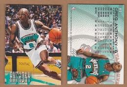 AC - FLEER 1996 - 1997 GREG ANTHONY 112 BASKETBALL NBA STARS - Singles