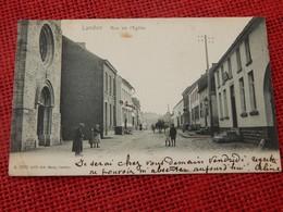 LANDEN  -  Rue De L'Eglise    -  1904 - Landen
