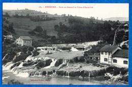 01- IZERNORE -  Saut En éventail Et Usine D'électricité - N° 584  Ed Prudon    CPA - France