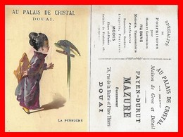 """CHROMOS. Magasin """"Au Palais De Cristal"""" Payen-Durut (Douai)  La Perruche...S168 - Non Classés"""