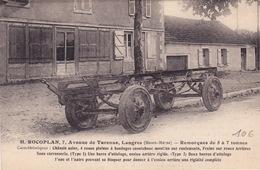 H. ROCOPLAN - Av De Turenne - Remorque De 5 à 7 Tonnes - Autres Communes