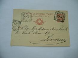 CARTOLINA POSTALE CASTIGLIONCELLO PISA LIVORNO 1907 - Militari