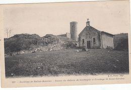 Cp , 39 , SAINT-AMOUR , Environs , Ruines Du Château De Laubespin Et Ermitage De Saint-Garaboz - Sonstige Gemeinden