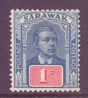 Sarawak Scott 50 - SG50, 1918 Sir Charles Vyner Brooke 1c MH* - Sarawak (...-1963)