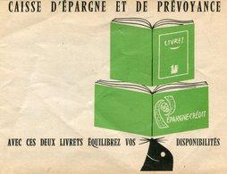 PUBLICITE(CAISSE D EPARGNE ET DE PREVOYANCE) - Visiting Cards
