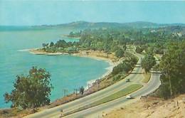 CARTE POSTALE ORIGINALE DE 9CM/14CM : SANTA BARBARA'S BEAUTIFUL COASTLINE CALIFORNIA  USA - Santa Barbara