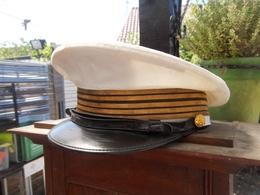 Casquette De La Marine Capitaine De Vaisseau - Casques & Coiffures