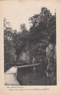 Cp , 42 , SAINT-VICTOR-sur-LOIRE , Canal Du Forez - Saint Etienne