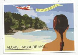 Cp, 86 ,MONTMORILLON , 5 E Salon De L'image Et De L'écrit, 2009 , Ne Me Quitte Pas , J. Brel , Vierge - Bourses & Salons De Collections